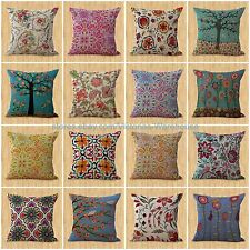decorative pillow lot of 15 wholesale retro bohemian floral cushion covers