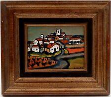 AUTHENTIQUE ! Henri Autran (1926-2007) - paysage provençal signé DERNIERE BAISSE