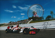 Pedro De La ROSA SIGNED Autograph Photo AFTAL COA F1 Hispania Japan Grand Prix