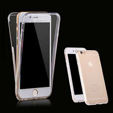Ultra Thin Slim Fit 360° TPU Clear Gel Skin Case Cover for Apple iPhone6S plus#5