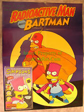 SIMPSONS Comics + Stories Issue #1 Collector Edition Sealed w/ Poster Bartman