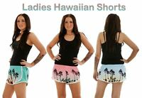 Women's Ladies Girls Hawaiian Beach Board Swimming Summer Hot Pants Shorts