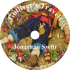 Gulliver's Travels Classic Adventure Audiobook by Jonathan Swift on 1 MP3 CD