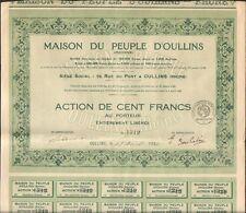 MAISON DU PEUPLE D'OULLINS (69) (Q)