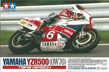 KIT TAMIYA 1:12 MOTO DA MONTARE E COLORARE YAMAHA YZR 500 TAIRA VERSION 14075