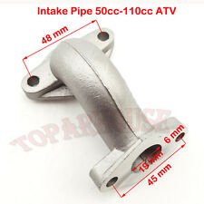 ATV Manifold Intake Pipe For Kazuma Redcat 110cc Mini Falcon 90cc Meerkat 50cc