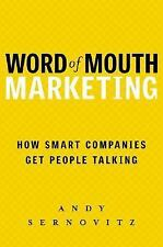Andy Sernovitz~WORD OF MOUTH MARKETING~SIGNED 1ST/DJ~NICE COPY
