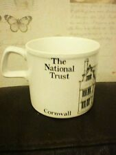 TRERICE CORNWALL NATIONAL TRUST MUG 8.5CM DIAM X 7.5CM HIGH DORN WILLIAMS RPA