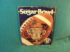 Vtg 1988 Auburn vs Syracuse SUGAR BOWL Football 16-16 TIE Game FILLER Program