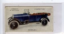 (Jd2411-100)  LAMBERT & BUTLER,MOTOR CARS,2ND SERIES,WAVERLEY,1923,#26
