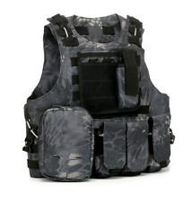 Outdoor Sports Airsoft Tactical Military Molle Combat Assault Plate Carrier Vest