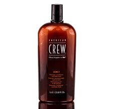 American Crew 3 in 1 Shampoo, Conditioner, Body Wash 33.8 oz