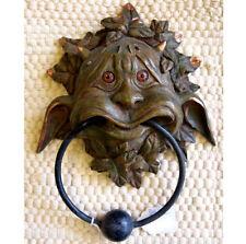 GARGOYLE DOOR KNOCKER Boldly LABYRINTH Witch Fantasy GOBLIN Green Man PAGAN BNIB