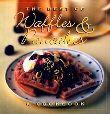 The Best of Waffles & Pancakes Hardcover w Dust Jacket Cookbook 1994
