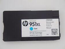 Genuine HP 951XL Cyan Used Officejet Ink Cartridge #CN046A Pro 200 8100 8600