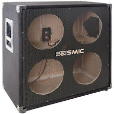 Seismic Audio - 410 Empty - 4x10 Bass Guitar Cabinet - No Woofers / Speakers