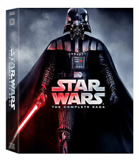NewStar Wars:The Complete Saga DVD (I,II,III,IV, V, VI, 12-Disc Box Set 1-6) Kit