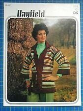 Hayfield da Donna a Righe Maglione Giacca Knitting Pattern 1152