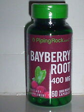 BAYBERRY ROOT 400 mg HERBAL SUPPLEMENT NAUSEA BLOOD CIRCULATION 60 CAPSULES