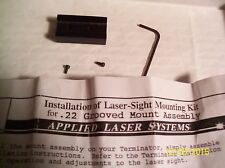 Applied Laser Systems - Laser Mount Assembly For .22's With Grooved Receiver NEW