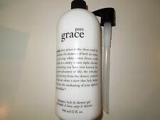 Philosophy PURE GRACE Shampoo Bath Shower GEL 32 oz w/PUMP