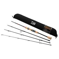 "Daiwa Presso Travel Pack Rod 4pc Ultralight trout Spinning 6' 6"" 4pc NEW"