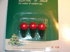B AND Q XMAS BULBS- 3v 330mW