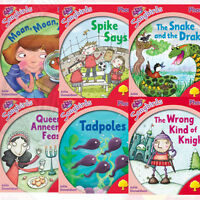 Oxford Reading Tree Songbirds Phonics: Level 4, 6 Books Collection Set(Tadpoles)