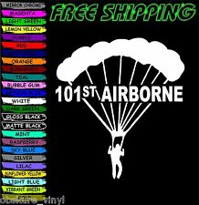 Airborne 101st VINYL DECAL STICKER CAR TRUCK VEHICLE