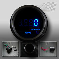 "Rev counter digital 0-1000rpm 22"" / 52mm universal custom fit dash pod"