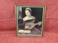 fine print of Oil painting by Dutch Master, gilt wood picture frame