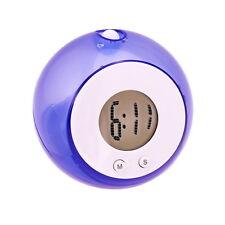 WATER POWER CLOCK, Wasseruhr mit LCD, kein Strom oder Batterien nötig, NEU+OVP