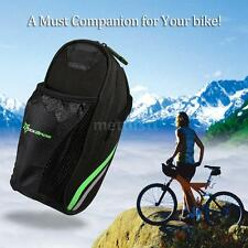 ROCKBROS Cycling Bicycle Folding Bike Rear Back Saddle Bag Seat Carrier New Z4C9