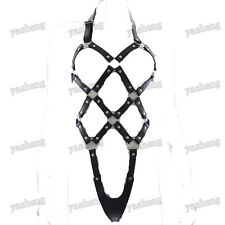 Sexy Women's Erotic Open cup Bondage body suit harness lingerie teddy Corset
