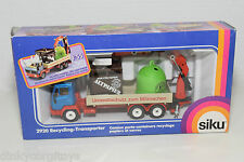 SIKU 2920 MERCEDES BENZ TRUCK RECYCLING TRANSPORTER MINT BOXED