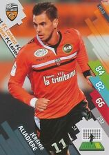 FCL-10 JEREMIE ALIADIERE # FC.LORIENT CARD ADRENALYN FOOT 2015 PANINI