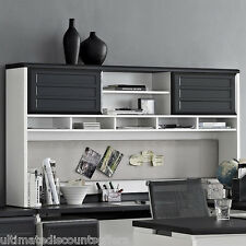 Executive Office Furniture Desk Hutch Wood Large Computer Modern Home Business