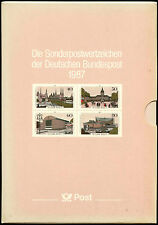 West Germany & Berlin 1987 Complete Year Book + Slipcase MNH Cat £110+ #J32