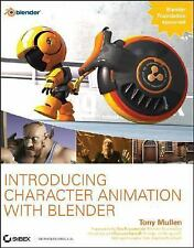 Introducing Character Animation with Blender, Tony Mullen, Acceptable Book
