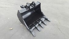 "New 24"" Case CX27B / New Holland E27 / Kobelco SK27SR Excavator Bucket"
