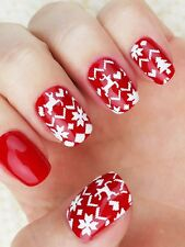 Winter Sweater pattern Nail Art Stencils - incredible nail art vinyls by Unail