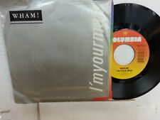 "WHAM! 45 RPM ""I'm Your Man"" & ""Do It Right"" w/ pic sleeve VG condition"