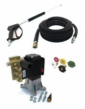 "4000 psi AR PRESSURE WASHER PUMP & SPRAY KIT replaces RKV4G40HD-F24 - 1"" Shaft"