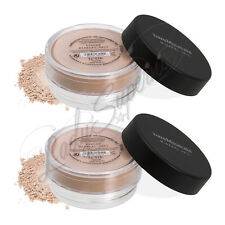 bareMinerals Escentuals ~TINTED MINERAL VEIL~ Finishing Powder XL 0.3Oz LOT OF 2