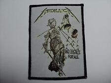 metallica justice for all WOVEN  PATCH