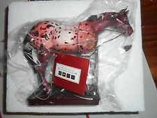TRAIL OF Painted Ponies  HORSE WITH NO NAME 2006 VINTAGE New in Box APPALOOSA