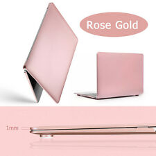 """Laptop Shell Case Cover Skin For MacBook Air 13.3"""" Rose Gold Matte Rubberized"""