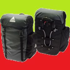 NEW AXIOM SEYMOUR DLX 30 Bike Panniers Pair Commuter Bags Touring