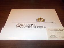 1980 Lincoln Limousines Executive Coachbuilders Sales Portfolio