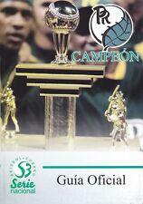 GUIA OFICIAL 2013-2014 DE BEISBOL SERIE NACIONAL 53 Baseball Guide Pelota Cuba